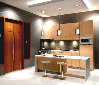 Model Kitchen Set Menarik Untuk Dapur Minimalis