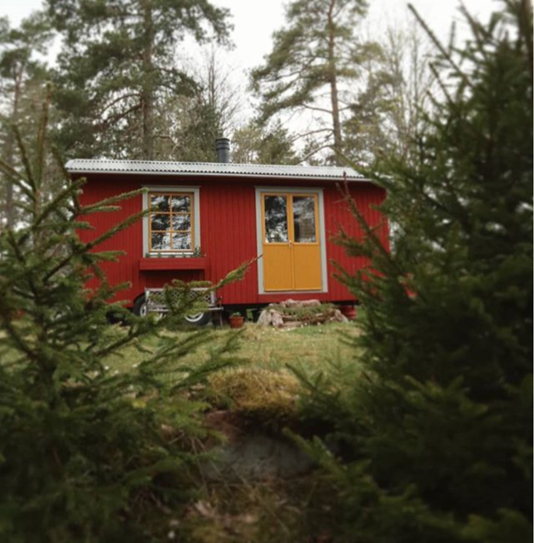 Before And After: A Tiny Off-the-grid Swedish Cabin In The Woods