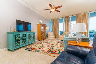 Bayshore Tower Condo For Sale Unit 207 Living Room Orange Beach AL Real Estate