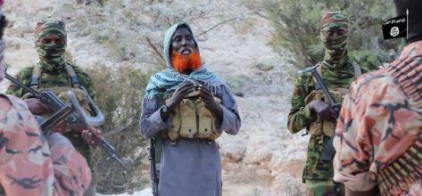 زعيم تنظيم داعش في الصومال يظهر في فيديو جديد