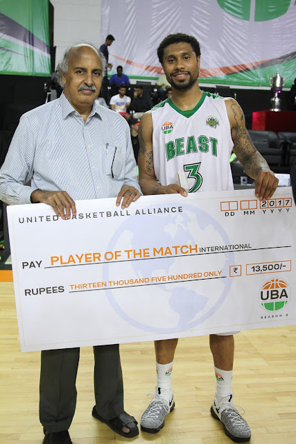 UBA Season 4 Game 15: Hyderabad Sky vs Bengaluru Beast