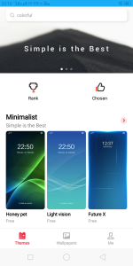 Official Realme Theme store Download Apk Beta Version 6.1.2beta1