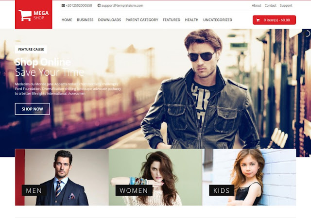 Mega Shop: Create an online shop with Blogger: Best templates to use in 2020