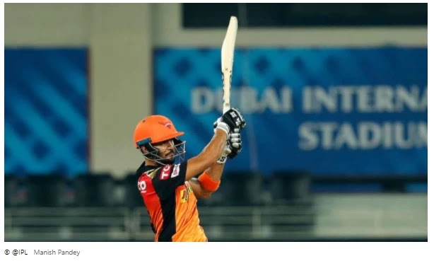 Pandey and Holder ended the Sunrisers' contest after standing up