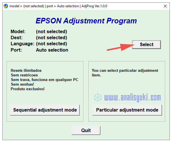 Cara Reset Epson L360 Lengkap dengan Gambar