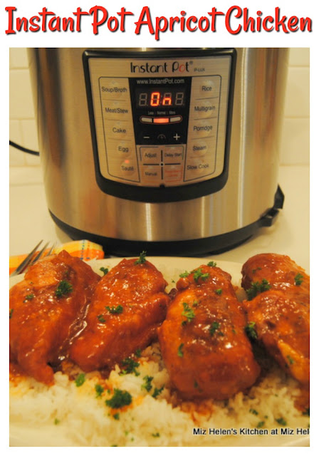 Instant Pot Apricot Chicken at Miz Helen's Country Cottage