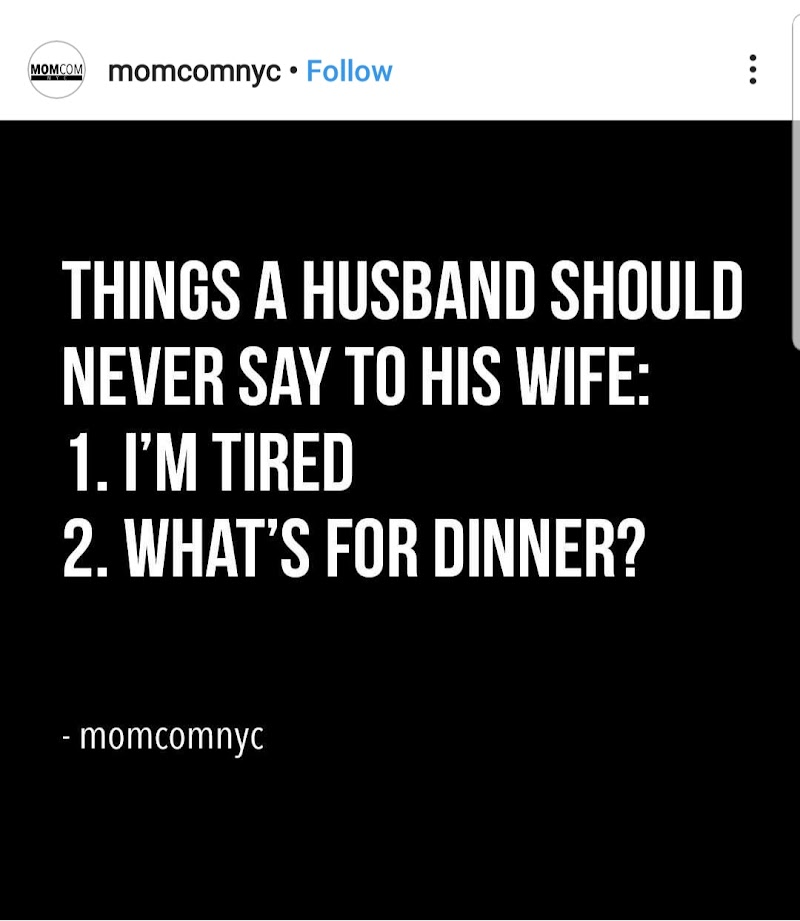 Things a husband should never say to his wife