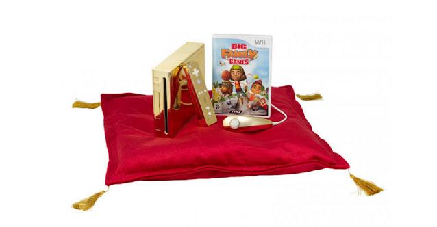 Wii de Ouro Rainha Elizabeth II