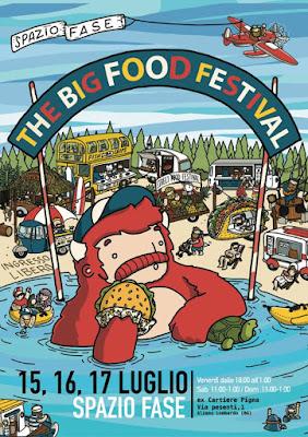 The big food festival 15 - 16 -17 luglio Alzano Lombardo 2016