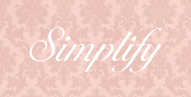 simplify, word of the year