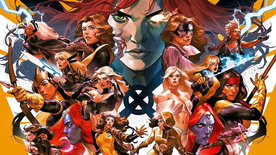 X Men Marvel Comics 4k Wallpaper 6 2434