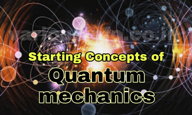 तरंग यांत्रिकी या क्वांटम यांत्रिकी (quantum mechanics) आइन्स्टाइन ने बताया कि ऊर्जा केवल Back body से ही quanta में उत्सर्जित या अवशोषित नहीं होती वरन् व्योम (space) में भी सभी विकिरणें इन्हीं क्वाण्टाओं में चलती हैं ।