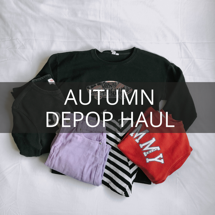 Autumn Depop Haul