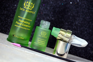 Hydrating floral essence and eye creme