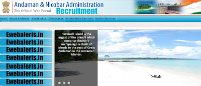 Andaman & Nicobar Administration Recruitment