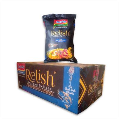 Indomie Instant Noodles – Relish Seafood Delight 200g x 20