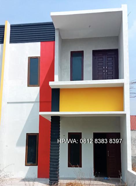 Unit Rumah Murah Grand Puri Marelan 2 Lantai Di Marelan Medan Sudah Termasuk Biaya Pajak, BBN, AJB, SHM, Dekat Ke Irian Supermarket