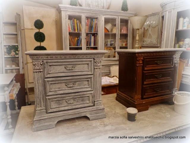 Famoso BOISERIE & C.: Dipingere Pitturare Patinare vecchi mobili MN18