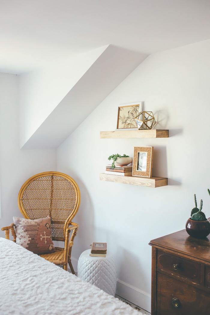eclectic bohemian bedroom reveal. Black Bedroom Furniture Sets. Home Design Ideas