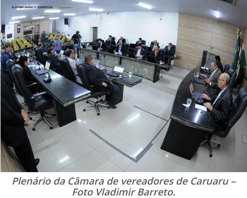 Câmara de vereadores de Caruaru se reunirá por videoconferência nesta terça (31).