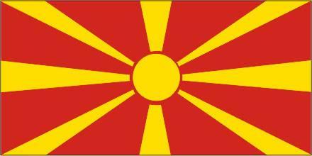 Bandeira da Macedônia