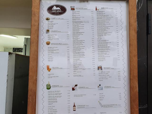 Blog Apaixonados por Viagens - Bar e Restaurante Urca - Onde comer no Rio