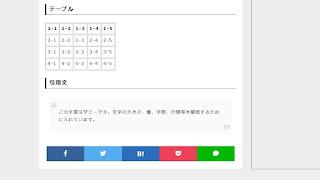 Bloggerテンプレート自作 #11:シェアボタン(SNSボタン)を作る
