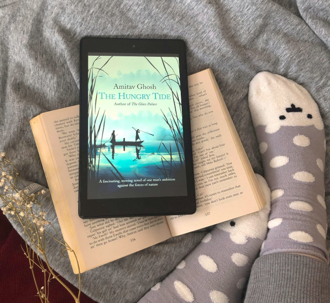 Cover of 'The Hungry Tide' by Amitav Ghosh