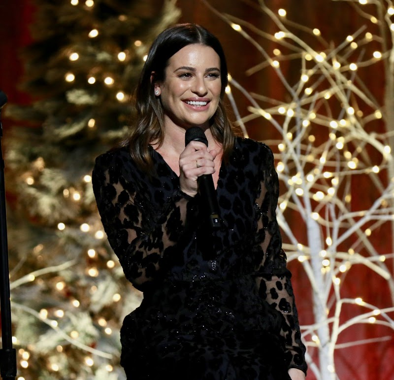 Lea Michele Performance Clicks at Concert Hall at NY Society for Ethical Culture 19 Dec-2019