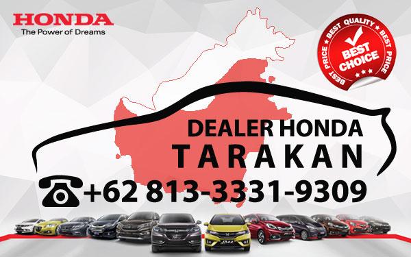 Dealer Honda Tarakan - Daftar Harga OTR, Cash Dan Kredit Mobil Baru