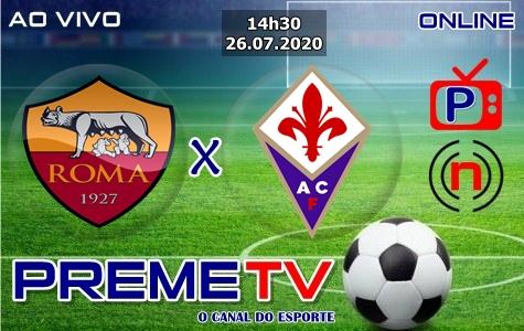 Roma x Fiorentina Hoje Ao Vivo