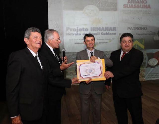 Prefeito de Campina Grande é homenageado pela Maçonaria com Moção de Agradecimento