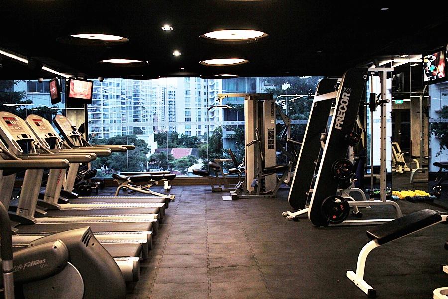 fitness gym hotel