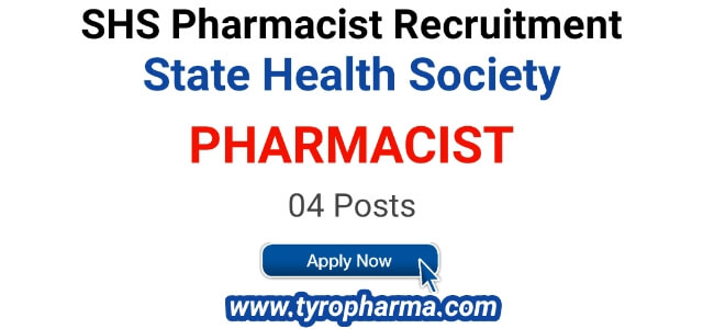 Pharmacist Job at State Health Society | NHM Pharmacist 04 post