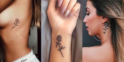 blogflordooriente, tatuagem, delicada,Rosas, traço fino, feminina, romântica,amor próprio