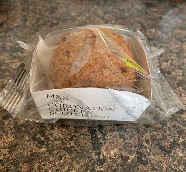 Coronation Chicken Scotch Egg (Marks and Spencer)