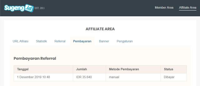 Sistem Afiliasi Penjualan Template Blogger Premium milik sugeng.id