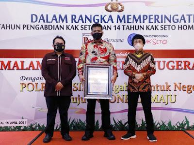 Kapolres Asahan Raih Penghargaan di Malam Puncak Penganugerahan Polri Presisi