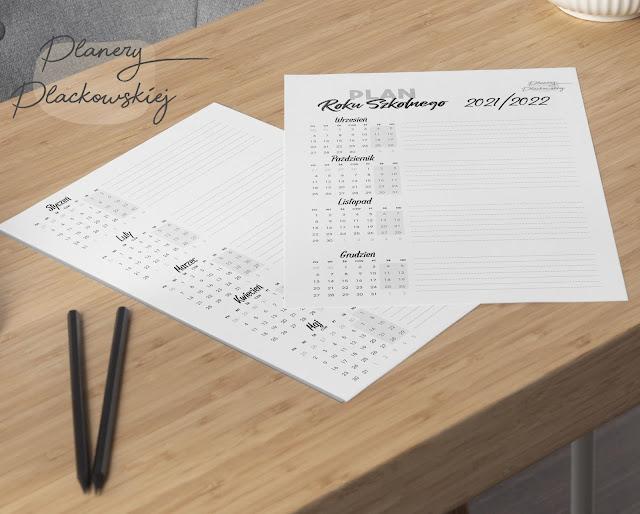 darmowy kalendarz szkolny do druku