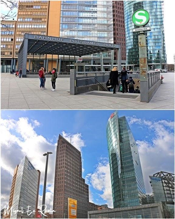 Postdamer-Platz-Berlín