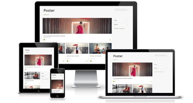 Emporio новая тема для blogger 2017