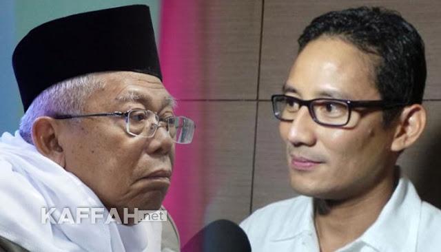 Demokrat: Maruf Amin Terkesan Sindir dan Panasi Prabowo, Tak Patut