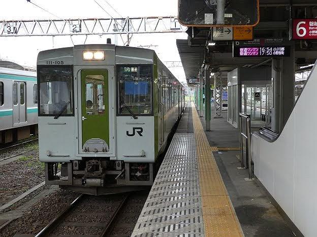 磐越東線4 ワンマン小川郷行き