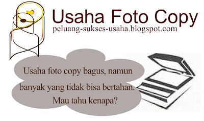Analisis Peluang Usaha Foto Copy