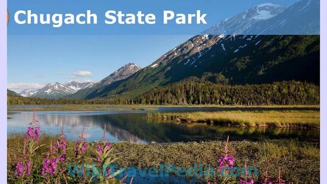 Chugach State Park in Anchorage Alaska