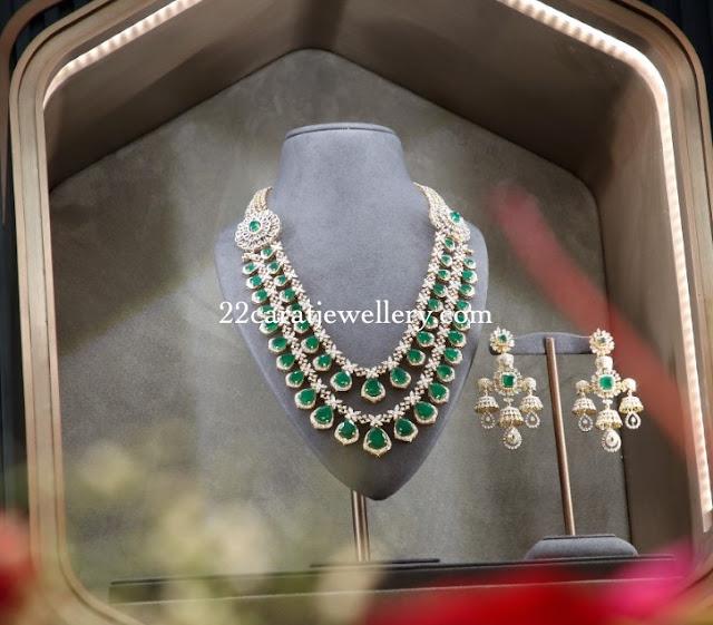 Tamannah Showcasing Diamond Large Sets