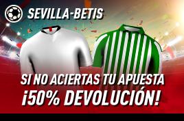 sportium devolucion Sevilla vs Betis 11 junio 2020