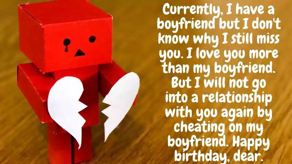Birthday Wishes For Ex Lover