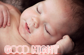 Cute baby image, cute baby good night image
