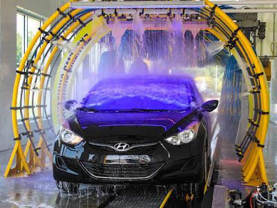 hệ thống xử lý nước thải rửa xe